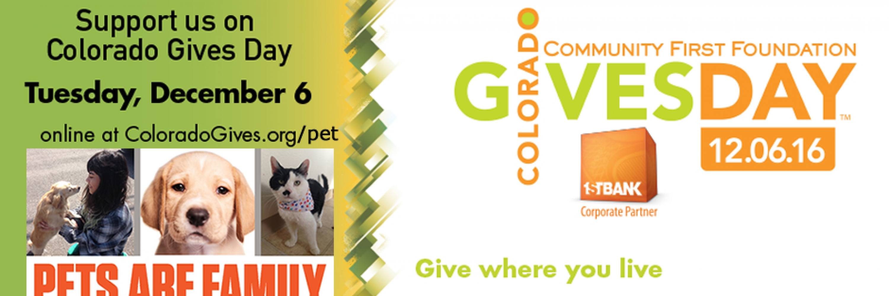 Schedule Your Colorado Gives Donation today