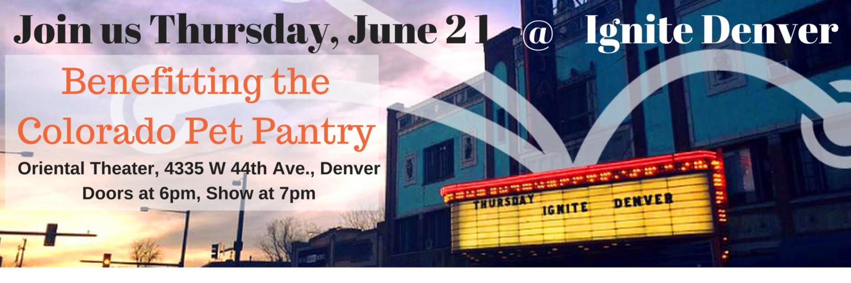 Ignite Denver June 21